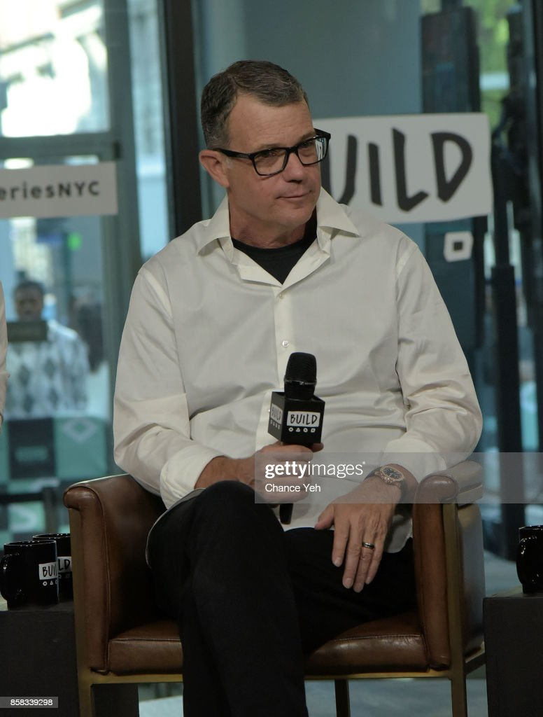 Mark Burg attend Build series to discuss 'Jigsaw' at Build Studio on October 6, 2017 in New York City.