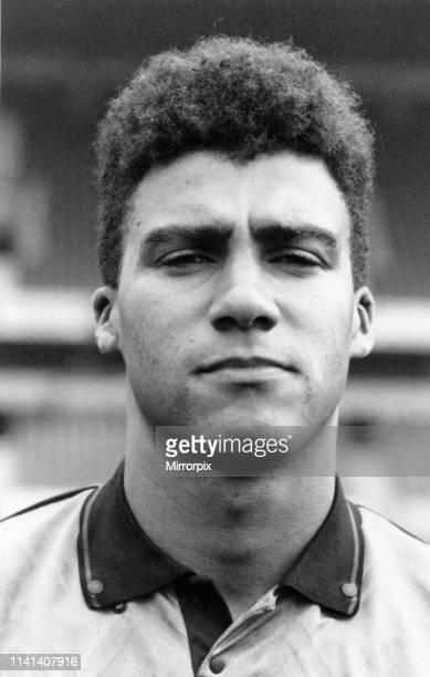 Mark Burke Wolverhampton Wanderers Football Player, Pre Season Photocall, Thursday 25th July 1991.