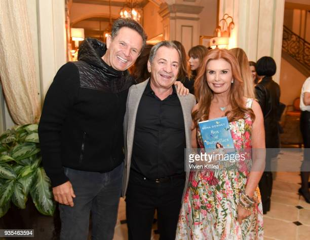 Mark Burnett Alec Gores and Roma Downey attend the 'Box of Butterflies' Book Party on March 20 2018 in Beverly Hills California