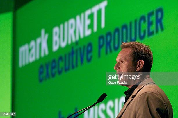 Mark Burnett Executive Producer of USA Network's new program 'Combat Missions' and producer of Survivor and Eco Challenge at the USA Cable Upfront in...