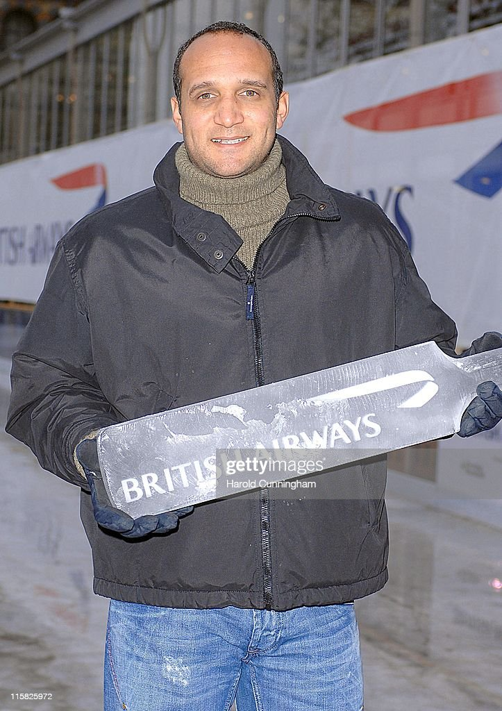 British Airways Charity Ice Cricket Match - December 13, 2006