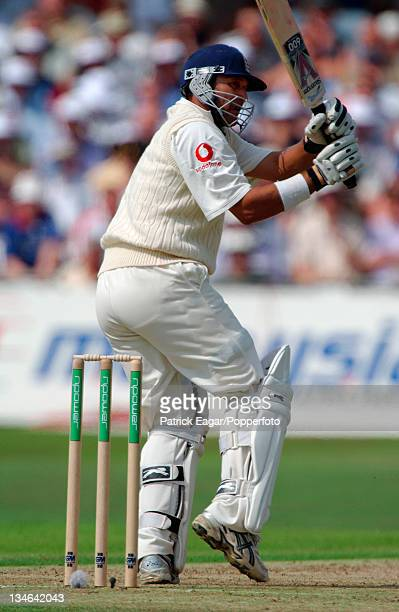 Mark Butcher made 106 England v South Africa 3rd Test Trent Bridge August 2003