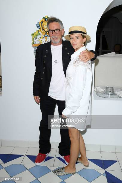 Mark Canton and Alexandra Scott attend 2019 Ischia Global Film & Music Fest on July 15, 2019 in Ischia, Italy.