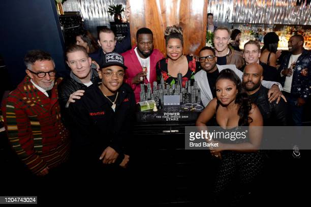 Mark Canton Joseph Sikora Shane Johnson Michael Rainey Jr Curtis 50 Cent Jackson Courtney A Kemp Larenz Tate Mike Dopud Naturi Naughton and Lahmard...