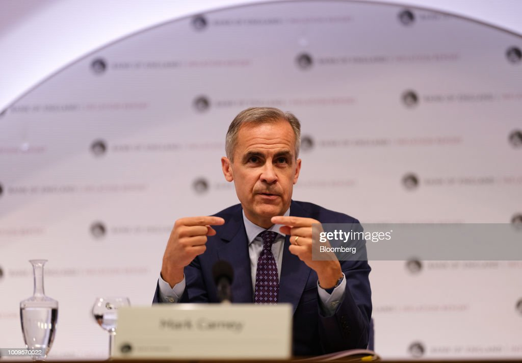 bank of england governor announcement