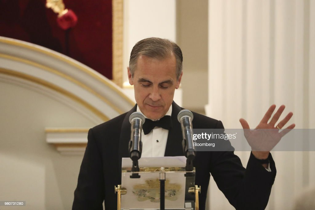 U.K. Chancellor And Bank Of England Governor Speak At Annual Mansion House Dinner