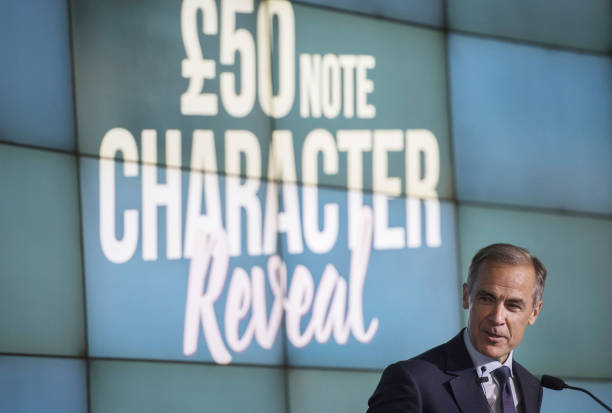 GBR: BOE Governor Mark Carney Announces New £50 Banknote Character