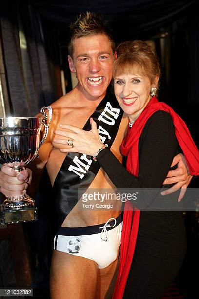 Mark Carter and Anita Dobson during Mr Gay UK 2006 Grand Final at The New Flamingo Club in Blackpool, Great Britain.
