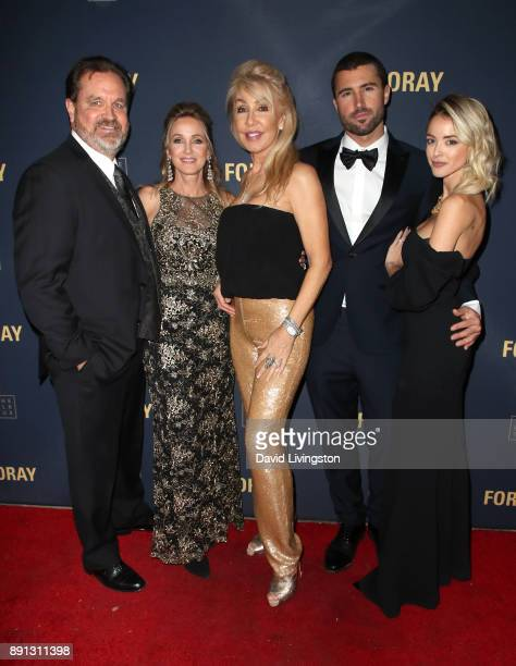 Mark Carter Michelle Carter songwriter Linda Thompson television personality Brody Jenner and Kaitlynn Carter attend FORAY Collective and The Black...
