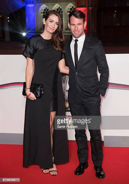 Mark Cavendish And Peta Todd Attend The Sun Military Awards At Guildhall On December 14