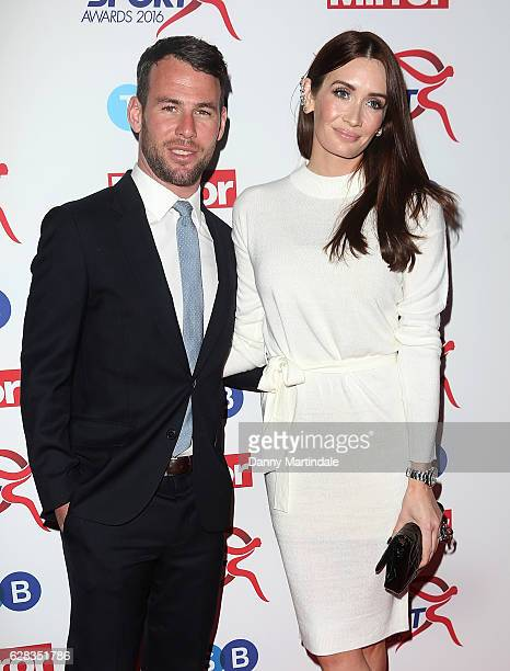 Mark Cavendish And Peta Todd Attends The Daily Mirror S Pride Of Sport Awards At Grosvenor