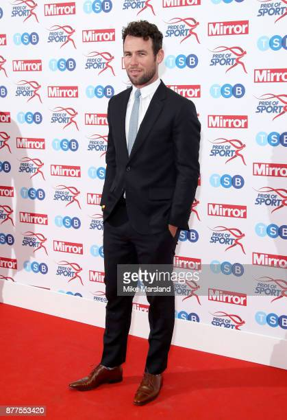 Mark Cavendish attends the Pride of Sport awards at Grosvenor House on November 22 2017 in London England