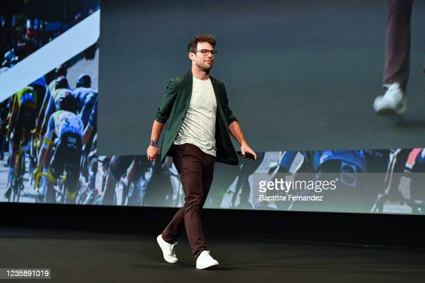 Mark CAVENDISH during the presentation of the Tour de France 2022 at Palais des Congres on October 14, 2021 in Paris, France.