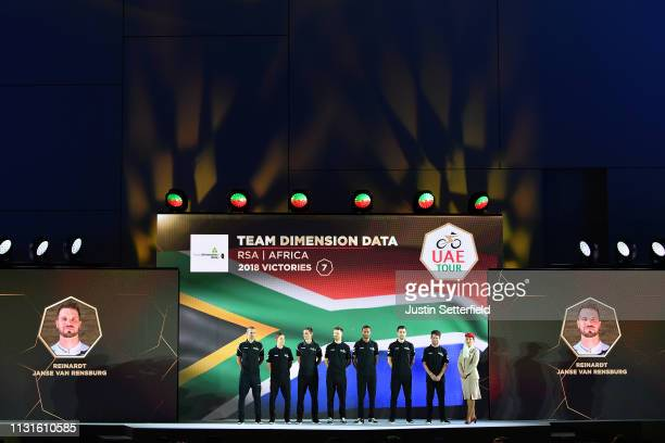 Mark Cavendish of Great Britain and Team Dimension Data / Bernhard Eisel of Austria and Team Dimension Data / Amanuel Ghebreigzabhier Werkilu of...