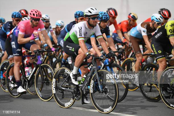 Mark Cavendish of Great Britain and Team Dimension Data / during the 5th UAE Tour 2019 Stage 5 a 181km stage from Sharjah Flag Island to Khor Fakkan...