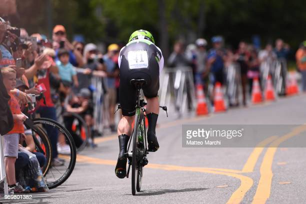 Mark Cavendish of Great Britain and Team Dimension Data rides during stage four of the 13th Amgen Tour of California 2018 San Jose / Morgan Hill a...