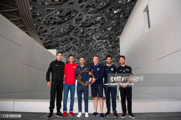 Mark Cavendish of Great Britain and Team Dimension Data / Vincenzo Nibali of Italy and Team BahrainMerida / Alejandro Valverde Belmonte of Spain and...
