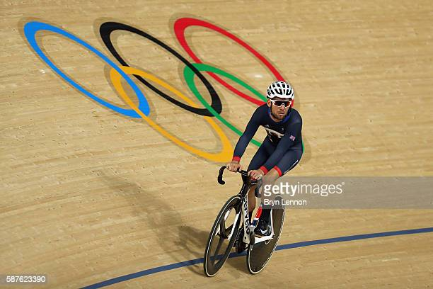 Mark Cavendish of Great Britain and Team GB in action during training at the Rio Olympic Velodrome on August 9, 2016 in Rio de Janeiro, Brazil.