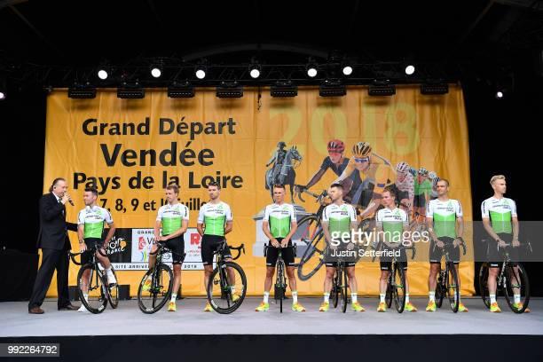 Mark Cavendish of Great Britain / Edvald Boasson Hagen of Norway / Reinardt Janse Van Rensburg of South Africa / Serge Pauwels of Belgium / Mark...