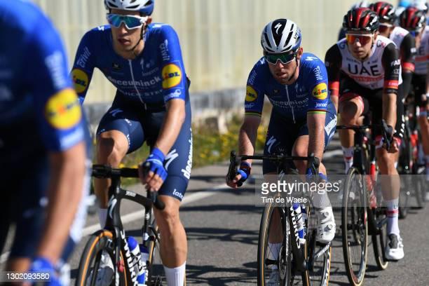 Mark Cavendish of The United Kingdom and Team Deceuninck - Quick-Step during the 34th Clásica de Almeria 2021 a 183,3km race from Pueblo de Vicar to...