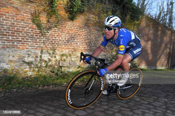 Mark Cavendish of The United Kingdom and Team Deceuninck - Quick-Step during the 53rd Grand Prix Le Samyn 2021, Men's Elite a 205,4km race from...