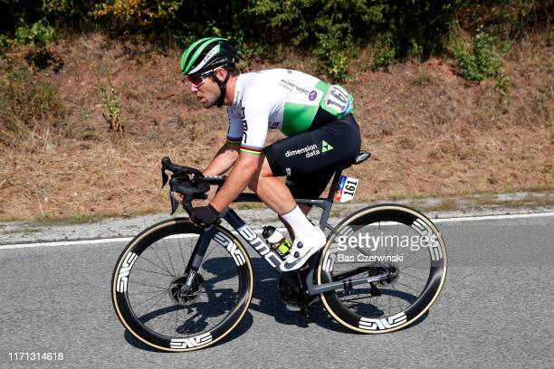 Mark Cavendish of United Kingdom and Team Dimension Data / during the 34th Deutschland Tour 2019, Stage 3 a 189km stage from Göttingen to Eisenach /...