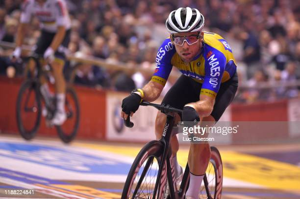 Mark Cavendish of United Kingdom and Team The Wolfpack – Maes 0,0% / during the 79th 6 Days Gent 2019 - Day 6 / Track / Kuipke Track Velodrome /...