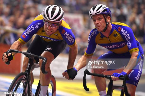 Mark Cavendish of United Kingdom and Team The Wolfpack – Maes 0,0% / Iljo Keisse of Belgium and Team The Wolfpack – Maes 0,0% / during the 79th 6...