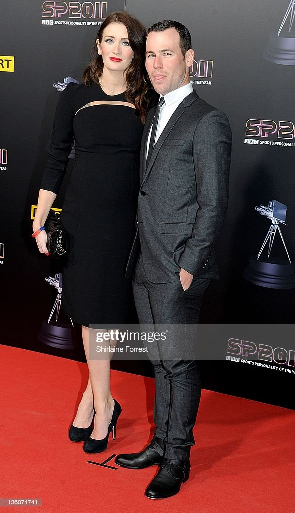 Mark Cavendish Winner Of The Event And Friend Peta Todd Attend Awards Ceremony Bbc Sports