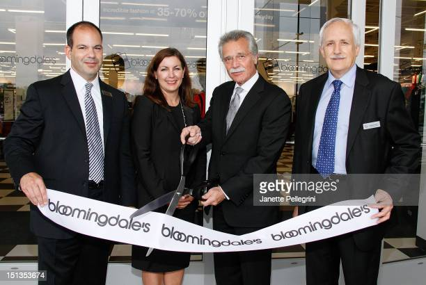 Mark Cechini OVP Director of Stores Elizabeth Axberg General Manager Arnie Orlick SVP of Bloomingdale's Outlets and Stephen Gatsik VP DMM Outlet...