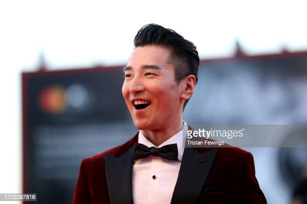 """Mark Chao walks the red carpet ahead of the """"Lan Xin Da Ju Yuan"""" screening during the 76th Venice Film Festival at Sala Grande on September 04, 2019..."""