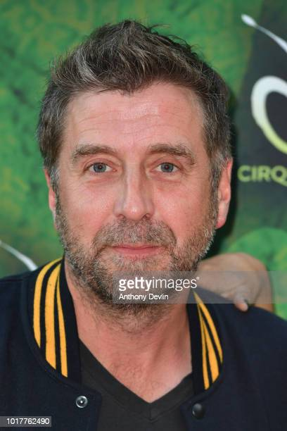 Mark Chapman attends the Cirque Du Soleil's OVO Premiere at The Liverpool Echo Arena on August 16 2018 in Liverpool England
