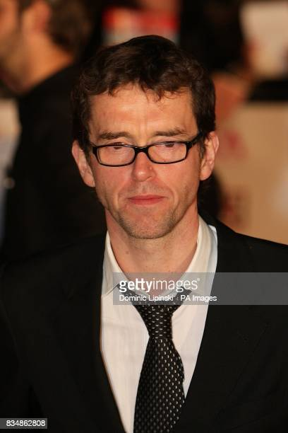 Mark Charnock arrives for the 2008 National Television Awards at the Royal Albert Hall Kensington Gore SW7