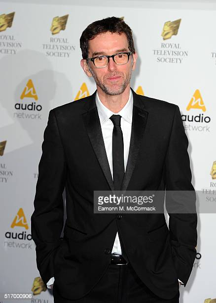 Mark Charnock arrives for The Royal Television Society Programme Awards at The Grosvenor House Hotel on March 22 2016 in London England