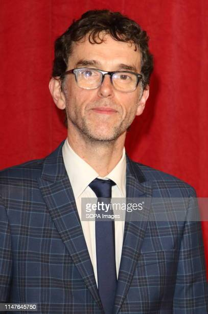 Mark Charnock arrives on the red carpet during The British Soap Awards 2019 at The Lowry, Media City, Salford in Manchester.