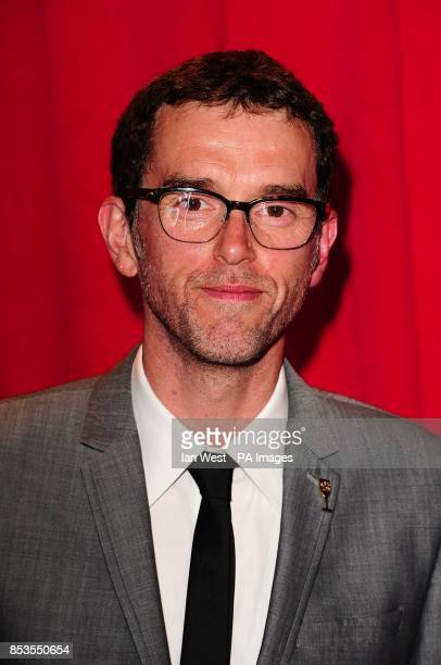 Mark Charnock arriving for the 2014 British Soap Awards at The Hackney Empire 291 Mare St London