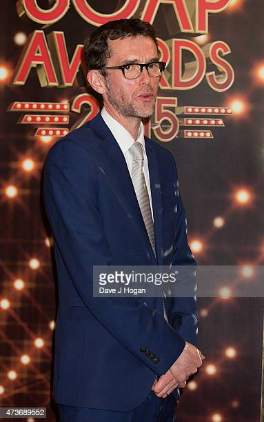 Mark Charnock attends the British Soap Awards at Manchester Palace Theatre on May 16 2015 in Manchester England