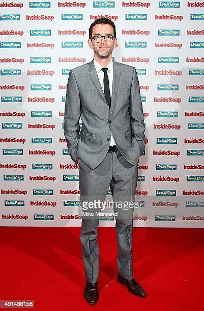 Mark Charnock attends the Inside Soap Awards at DSKTRT on October 5 2015 in London England