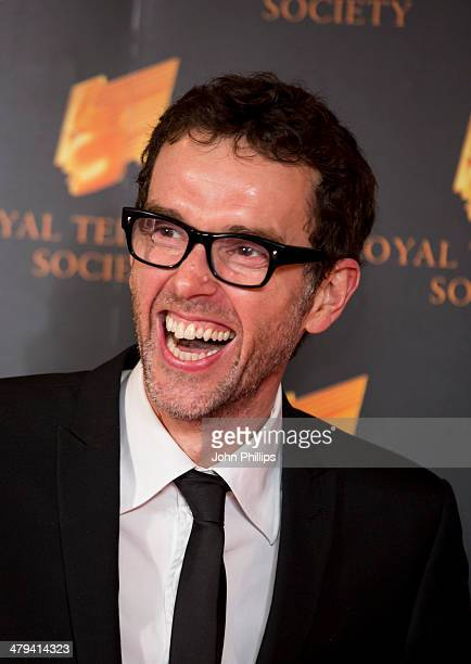 Mark Charnock attends the RTS programme awards at Grosvenor House on March 18 2014 in London England