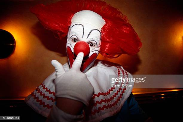 Mark Christiansen a cartoonist had a Bozo the Clown costume made for the audition