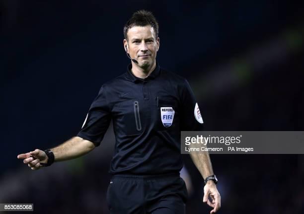 Mark Clattenburg match referee