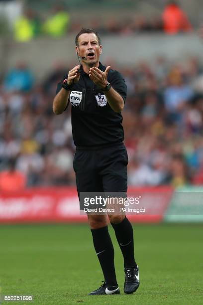 Mark Clattenburg referee