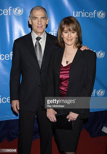 Mark Clint and Patricia Richardson during UNICEF Goodwill Gala Celebrating 50 Years of Celebrity Goodwill Ambassadors Red Carpet at The Beverly...