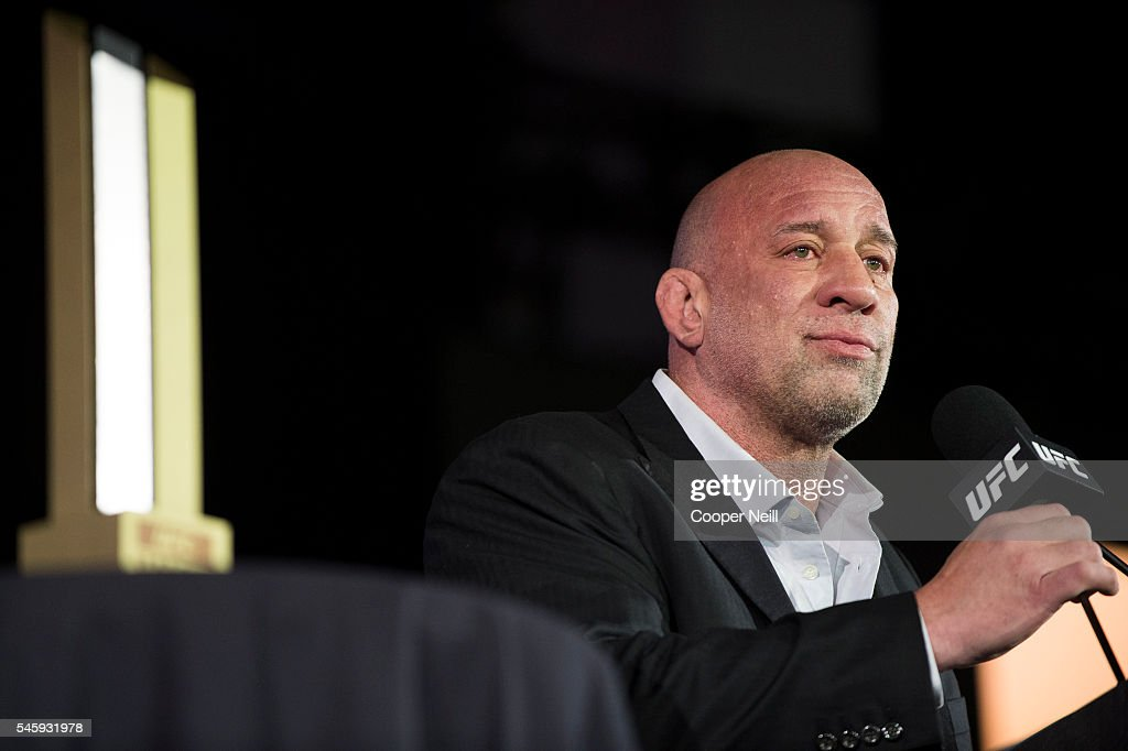 UFC Hall of Fame Induction Ceremony : News Photo
