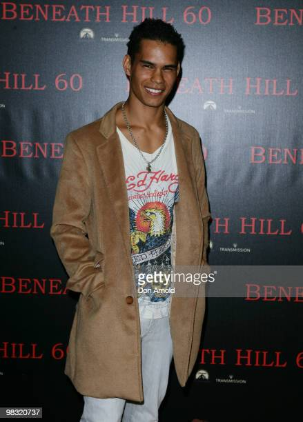 Mark Coles Smith arrives for the premiere of Beneath Hill 60 at Event Cinemas George Street on April 8 2010 in Sydney Australia