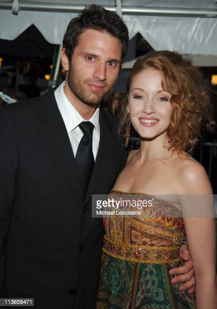 Mark Collier and Jennifer Ferrin during 32nd Annual Daytime Emmy Awards Arrivals at Radio City Music Hall in New York City New York United States