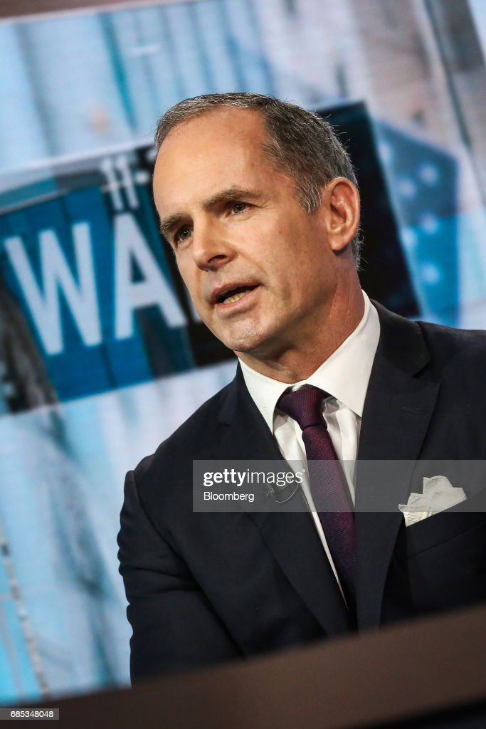 Mark Connors, global head of risk advisory at Credit Suisse Securities LLC, speaks during a Bloomberg Television interview in New York, U.S., on Friday, May 19, 2017. Connors discussed the state of the hedge funds industry. Photographer: Christopher Goodney/Bloomberg via Getty Images