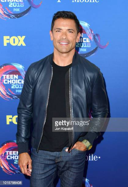 Mark Consuelos attends FOX's Teen Choice Awards at The Forum on August 12 2018 in Inglewood California
