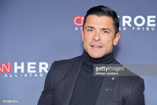 Mark Consuelos attends the 12th Annual CNN Heroes An AllStar Tribute at American Museum of Natural History on December 9 2018 in New York City
