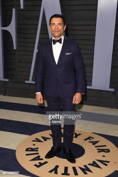 Mark Consuelos attends the 2018 Vanity Fair Oscar Party hosted by Radhika Jones at the Wallis Annenberg Center for the Performing Arts on March 4...